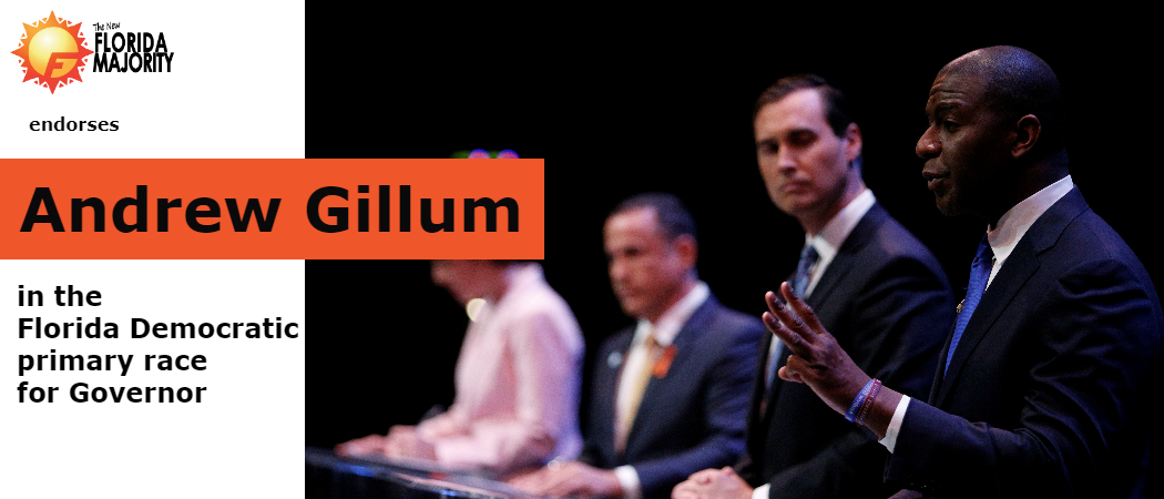 NewFM Endorses Andrew Gillum for Florida Governor in Democratic Primary Race