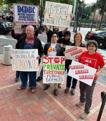Momentum to Keep JEA Public Grows in Jacksonville