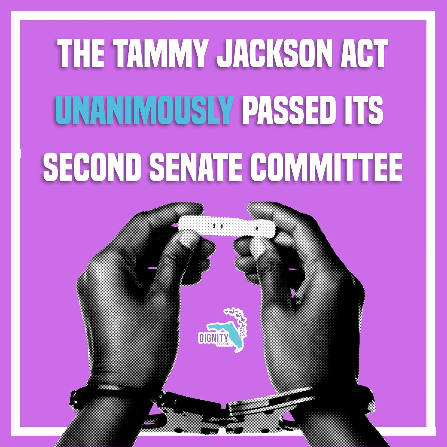 BREAKING: 'Tammy Jackson Act' Unanimously Passes its Second Senate Committee