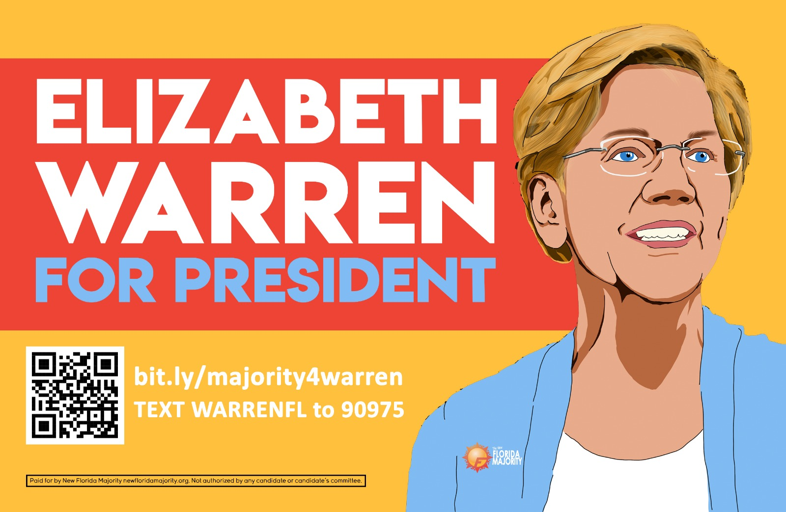 Florida Primary: NewFM Launches Massive Voter Outreach to Support Elizabeth Warren
