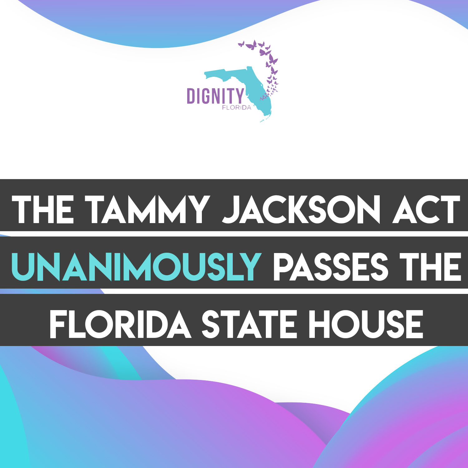 BREAKING: 'Tammy Jackson Act' Unanimously Passes the Florida State House