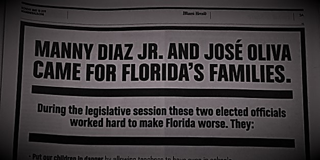Manny Diaz and José Oliva Came For Our Families