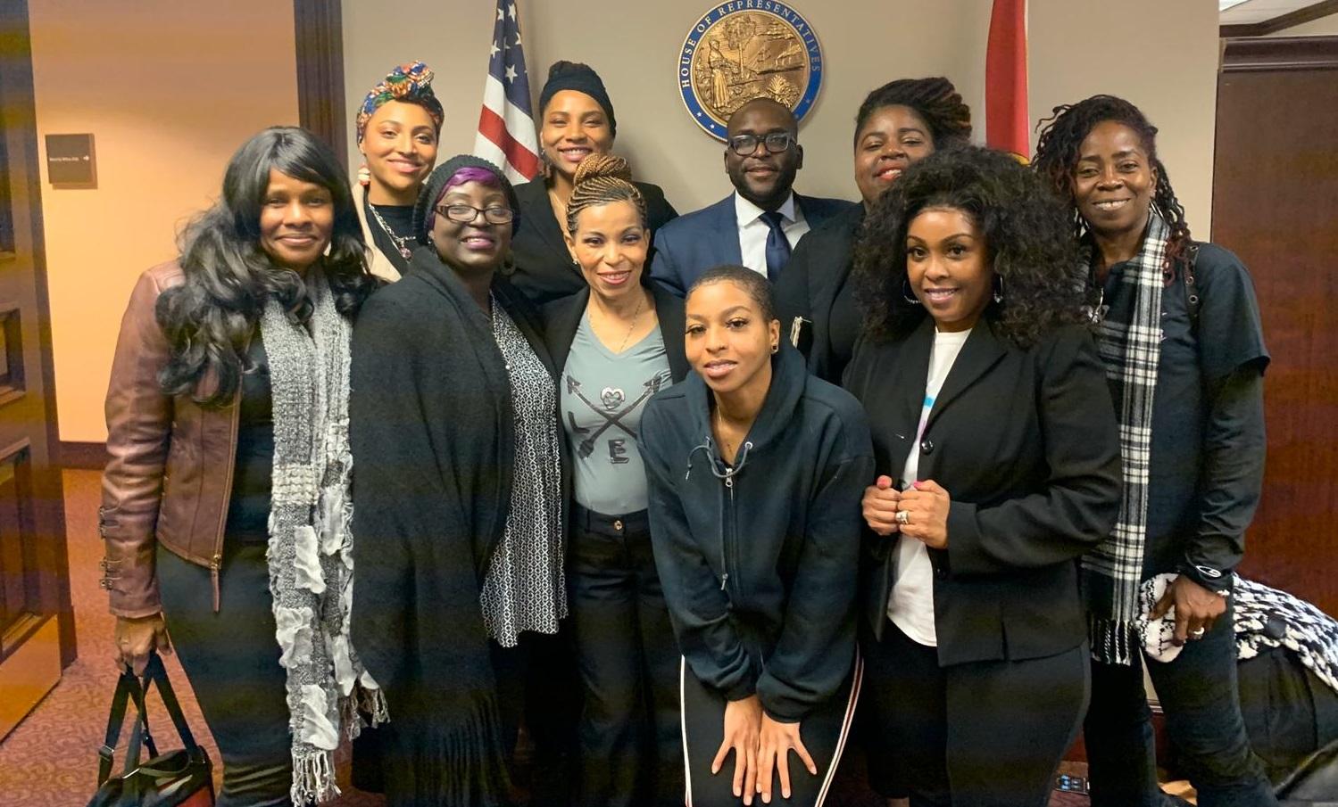 Formerly Incarcerated Women Lobby Legislators for Dignity for Pregnant Women in Prison