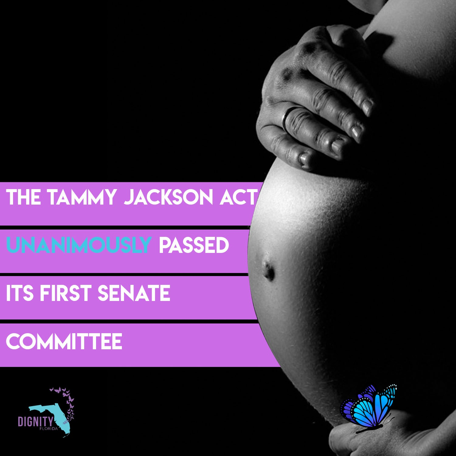 BREAKING: 'Tammy Jackson Act' for Incarcerated Pregnant Women Passes First Senate Committee